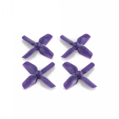 HQ Micro Whoop Prop 1.2X1.2X4 (31MM) Purple (2CW+2CCW)-ABS-0.8MM Shaft