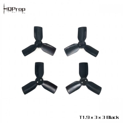 HQ Durable Prop T1.9X3X3 Black (2CW+2CCW)-Poly Carbonate