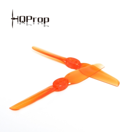 HQ Durable Prop T65MM Light Orange (5CW+5CCW)-Poly Carbonate
