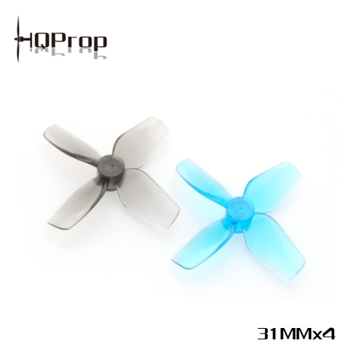 HQ Micro Whoop Prop 31MMX4  (2CW+2CCW)-Poly Carbonate-1MM Shaft
